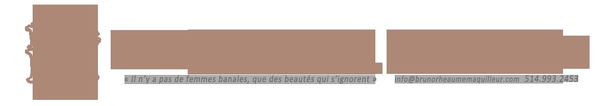Bruno Rhéaume Maquilleur
